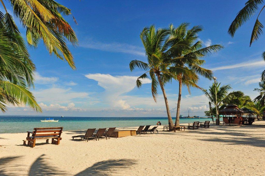 a beach in Cebu